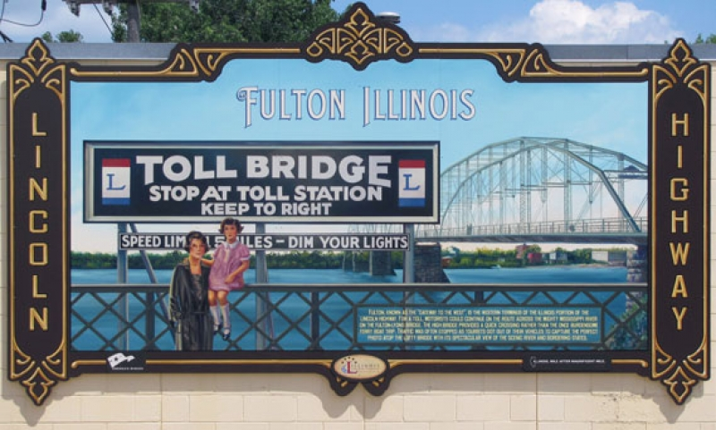 Fulton's Lincoln Highway Mural