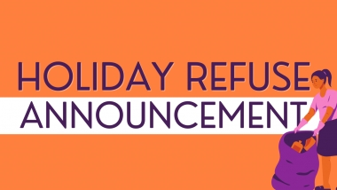Holiday Refuse Announcement