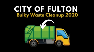 City of Fulton Bulky Waste Cleanup 2020